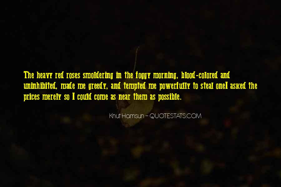 Quotes About Blood Red #328185