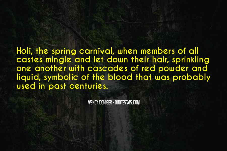 Quotes About Blood Red #362835