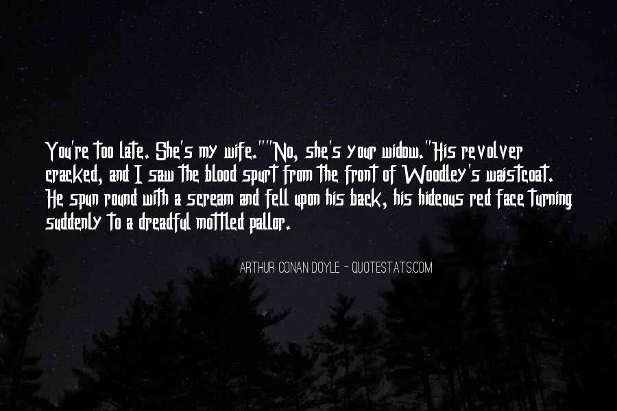 Quotes About Blood Red #432178