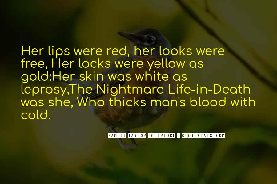 Quotes About Blood Red #455369