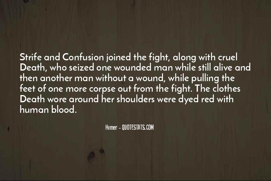 Quotes About Blood Red #457874
