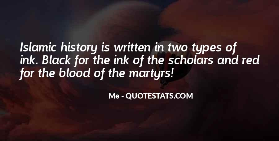 Quotes About Blood Red #51874