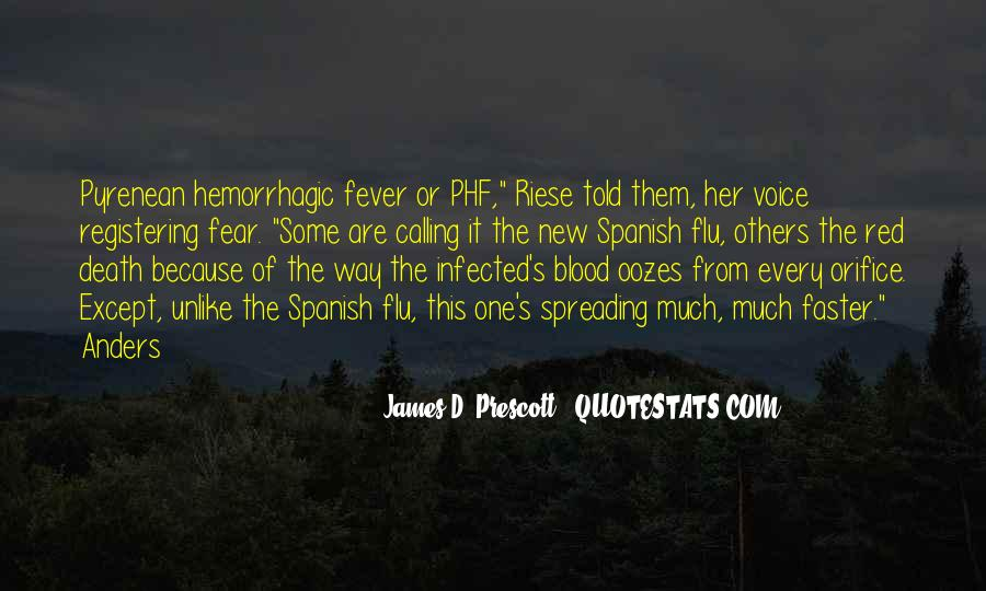 Quotes About Blood Red #625199