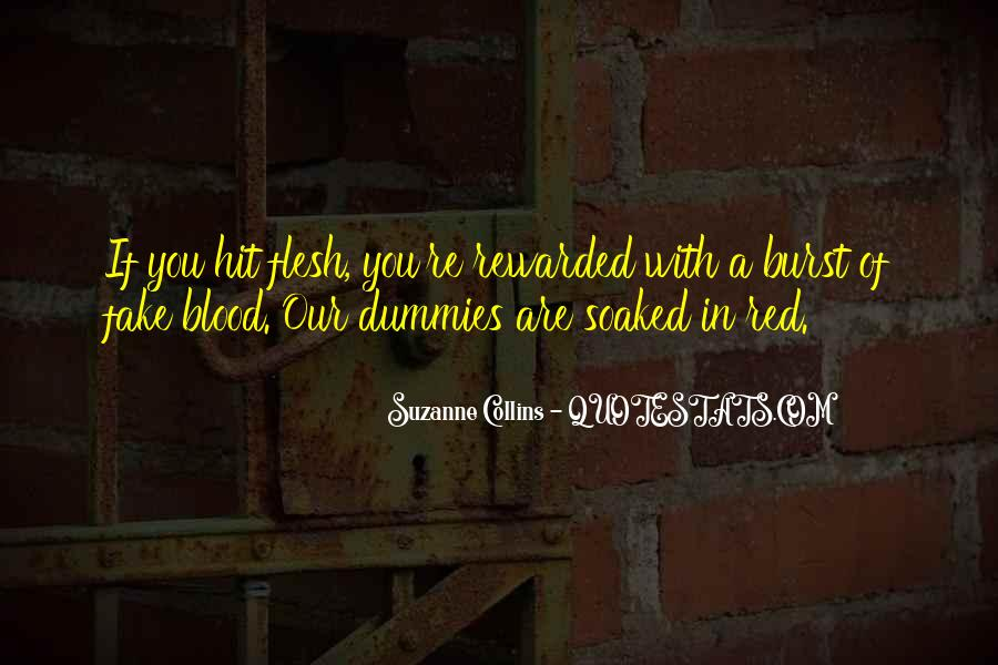 Quotes About Blood Red #672457