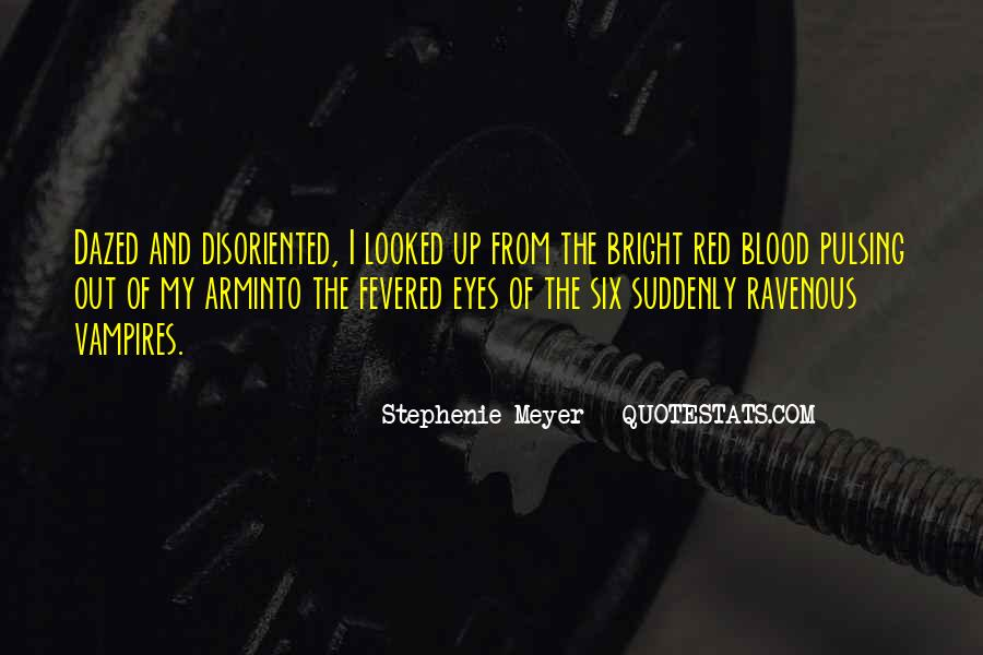 Quotes About Blood Red #93247