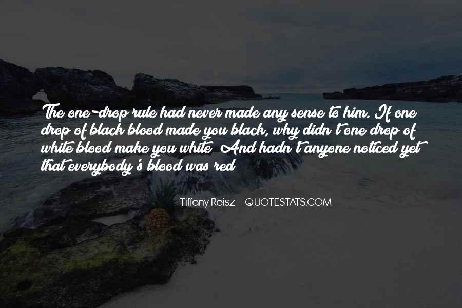 Quotes About Blood Red #96556