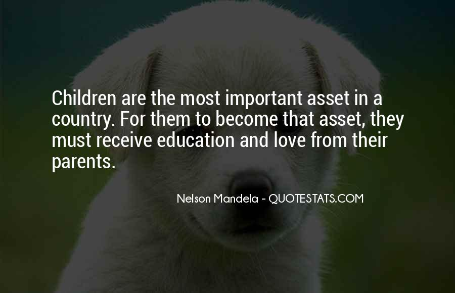 Quotes About Parents Love For Children #1235850