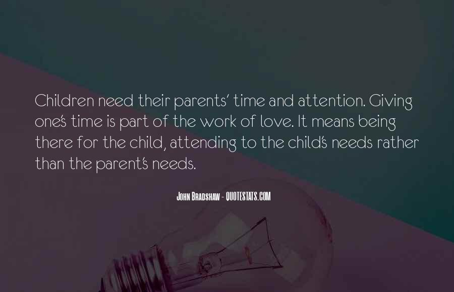 Quotes About Parents Love For Children #1488356