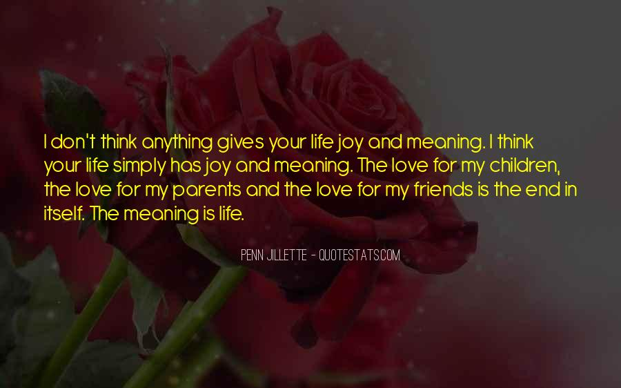 Quotes About Parents Love For Children #1735323