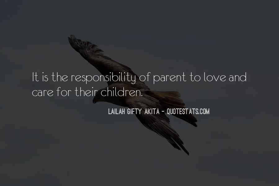 Quotes About Parents Love For Children #325588