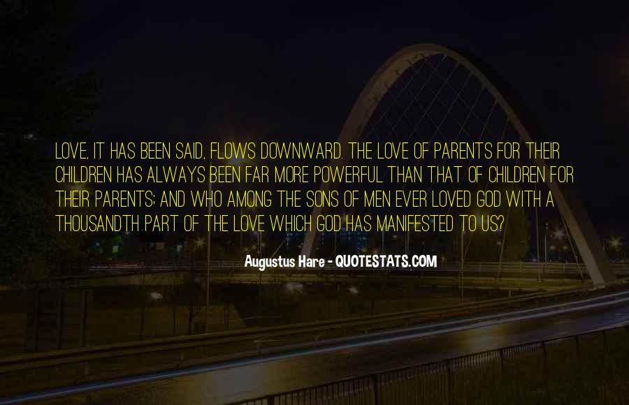 Quotes About Parents Love For Children #409357