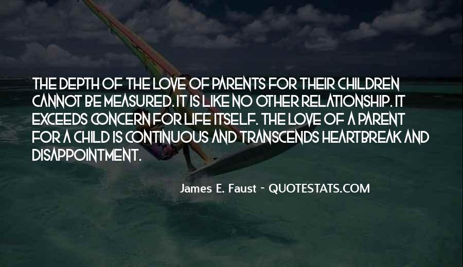 Quotes About Parents Love For Children #74920