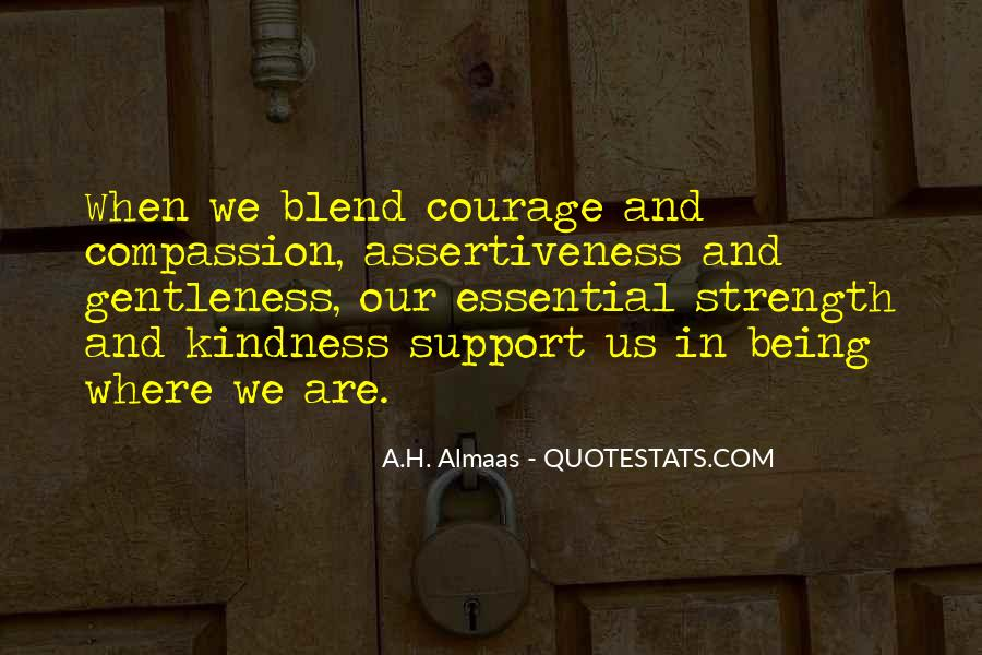 Quotes About Gentleness And Kindness #1047881