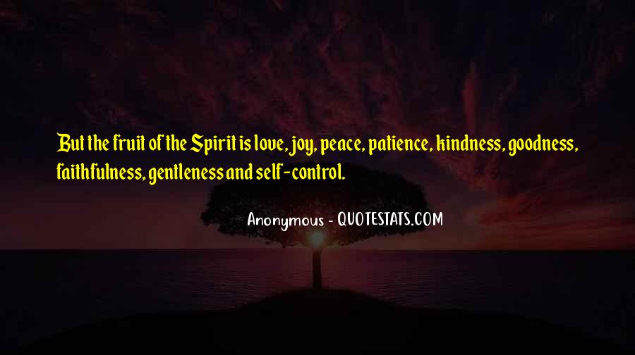 Quotes About Gentleness And Kindness #1724011