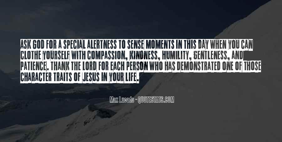 Quotes About Gentleness And Kindness #512184