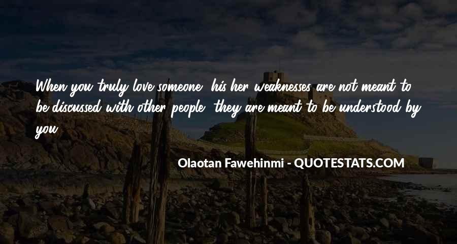 Quotes About Weaknesses #106241
