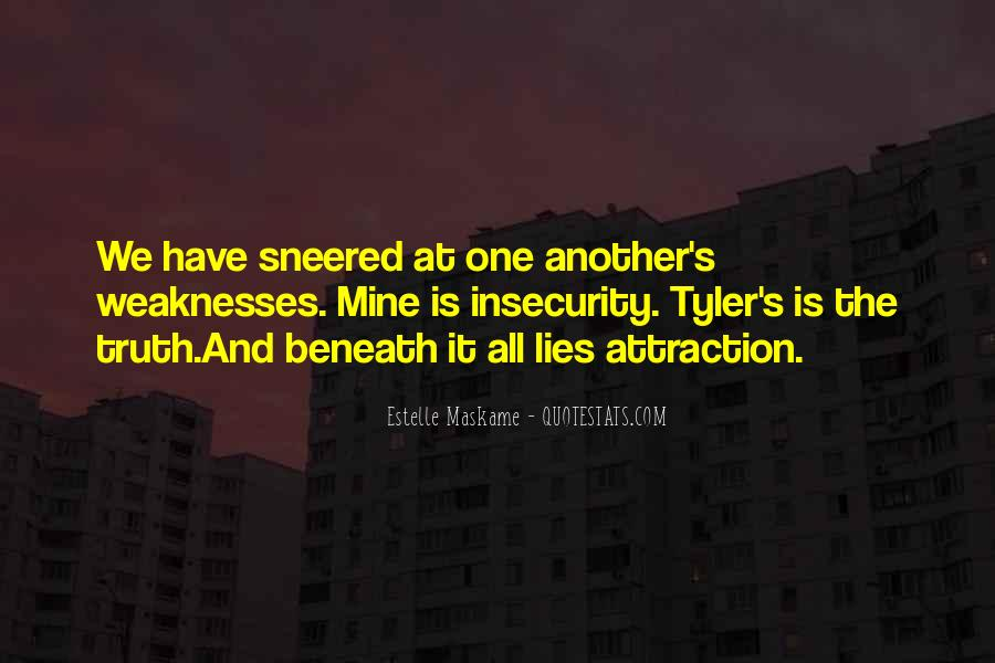 Quotes About Weaknesses #110188