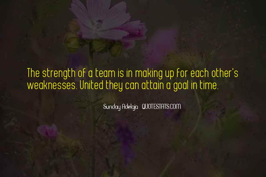 Quotes About Weaknesses #115910