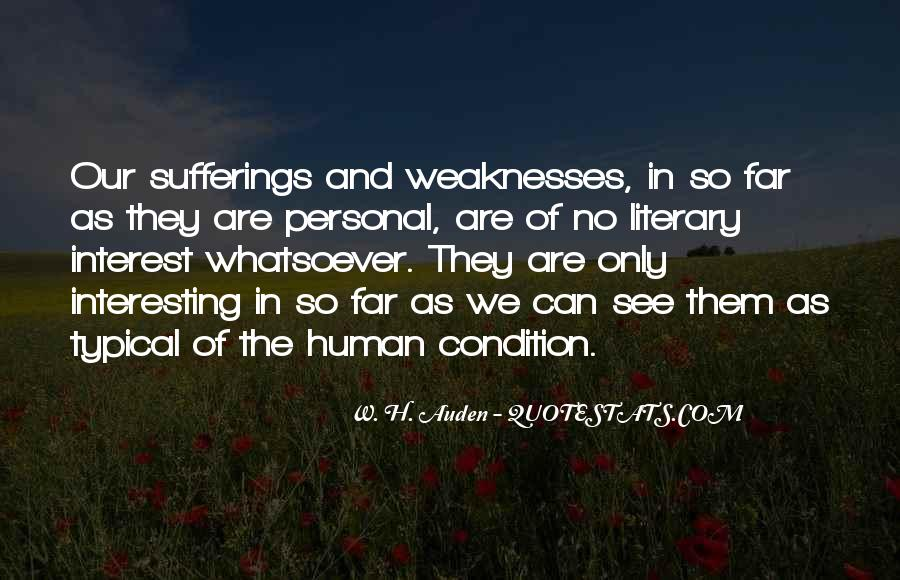 Quotes About Weaknesses #159831