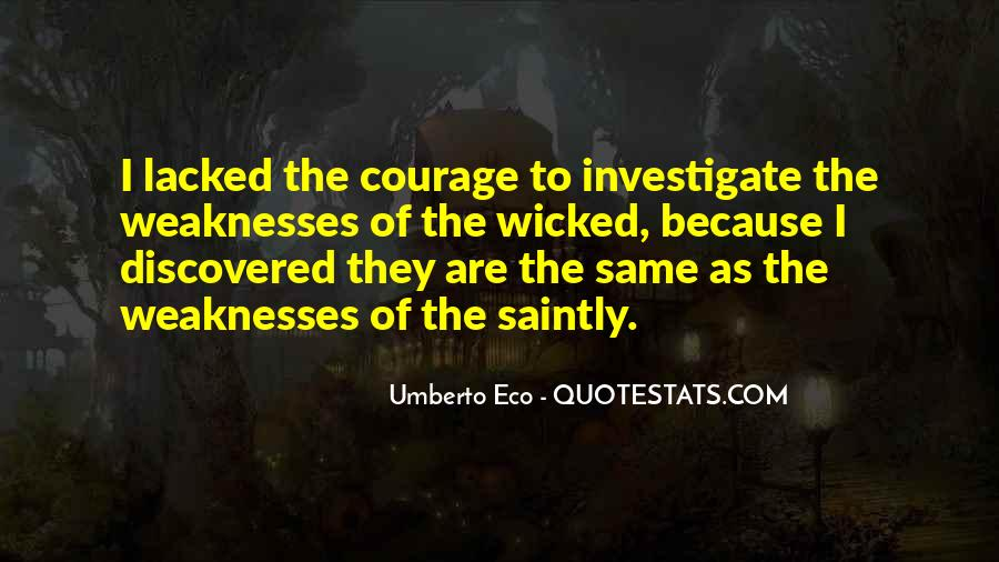 Quotes About Weaknesses #207582