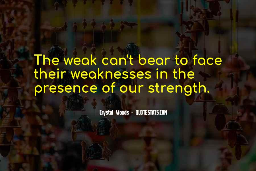 Quotes About Weaknesses #212292