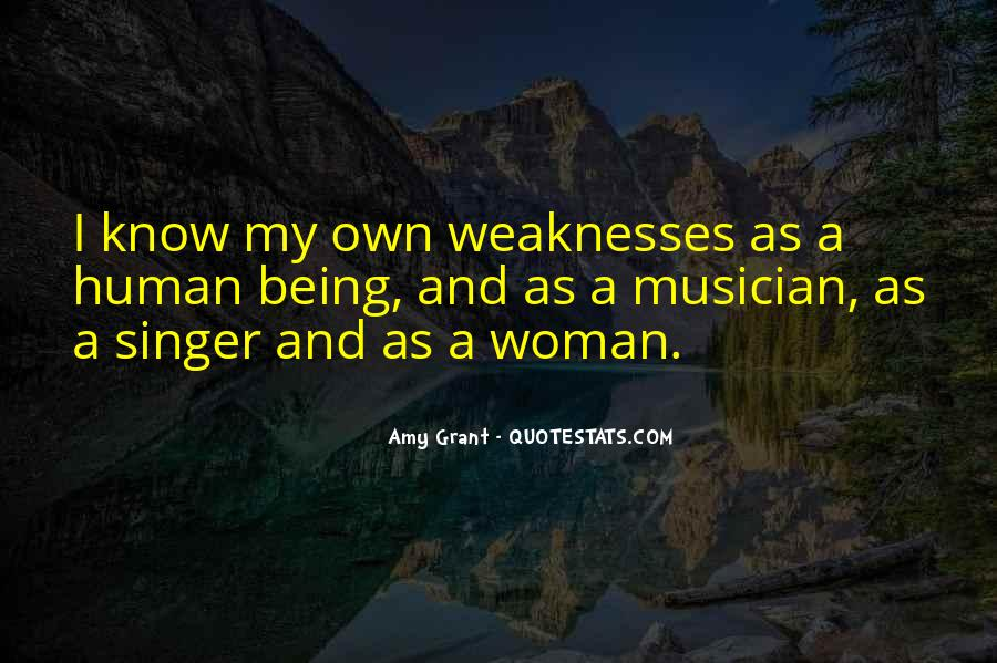 Quotes About Weaknesses #231646