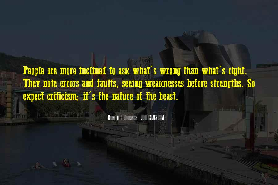 Quotes About Weaknesses #82830