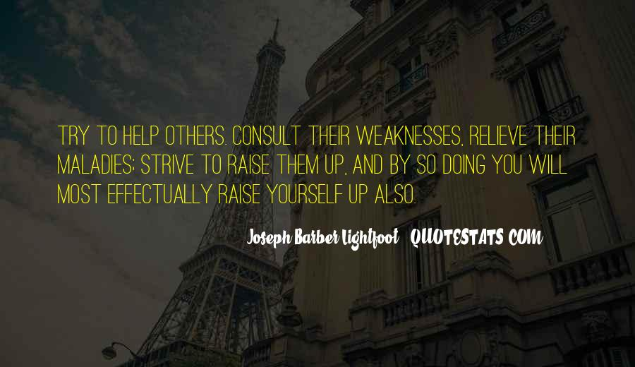 Quotes About Weaknesses #97664