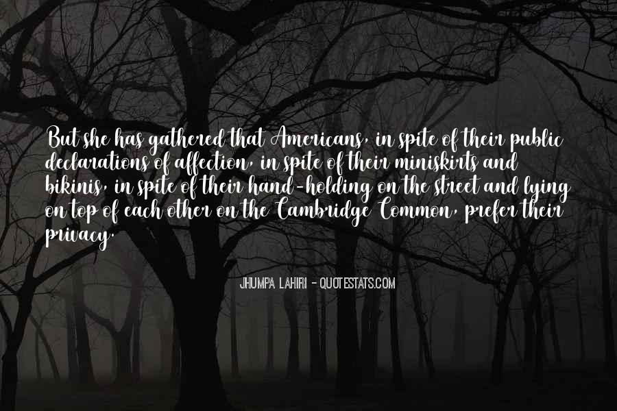 Quotes About Public Affection #130159