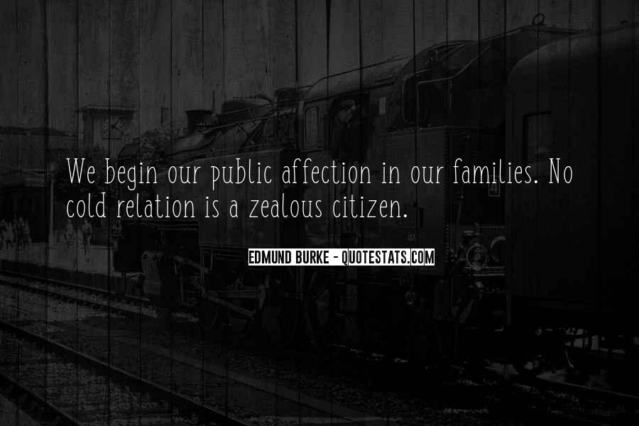 Quotes About Public Affection #1872105