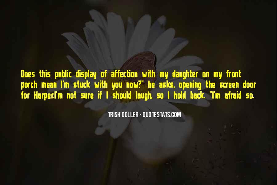 Quotes About Public Affection #222294