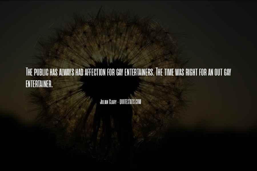 Quotes About Public Affection #295239