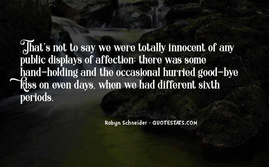 Quotes About Public Affection #317187
