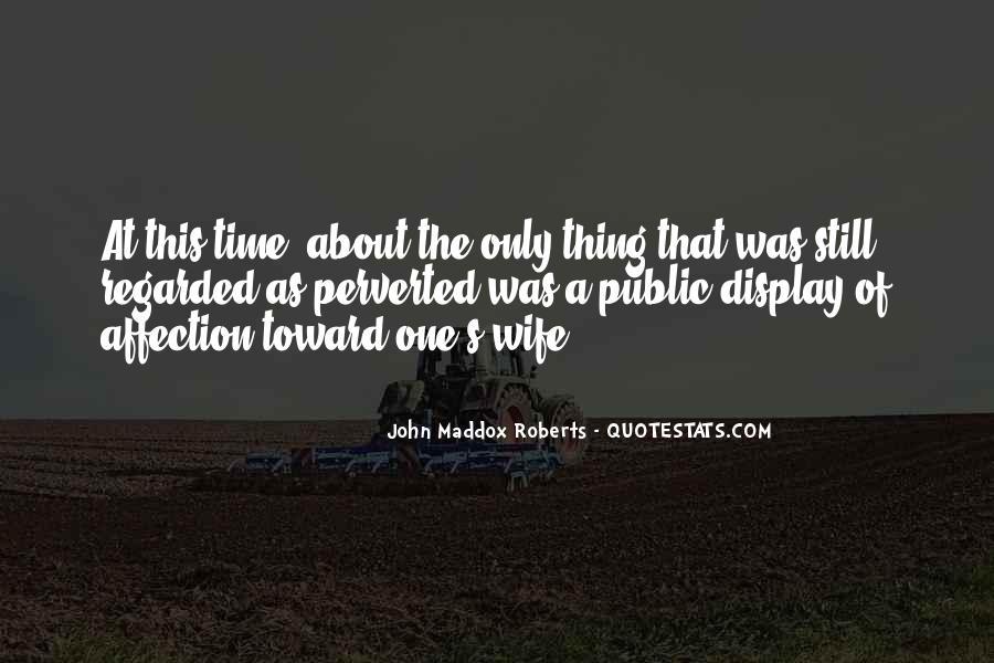 Quotes About Public Affection #746845
