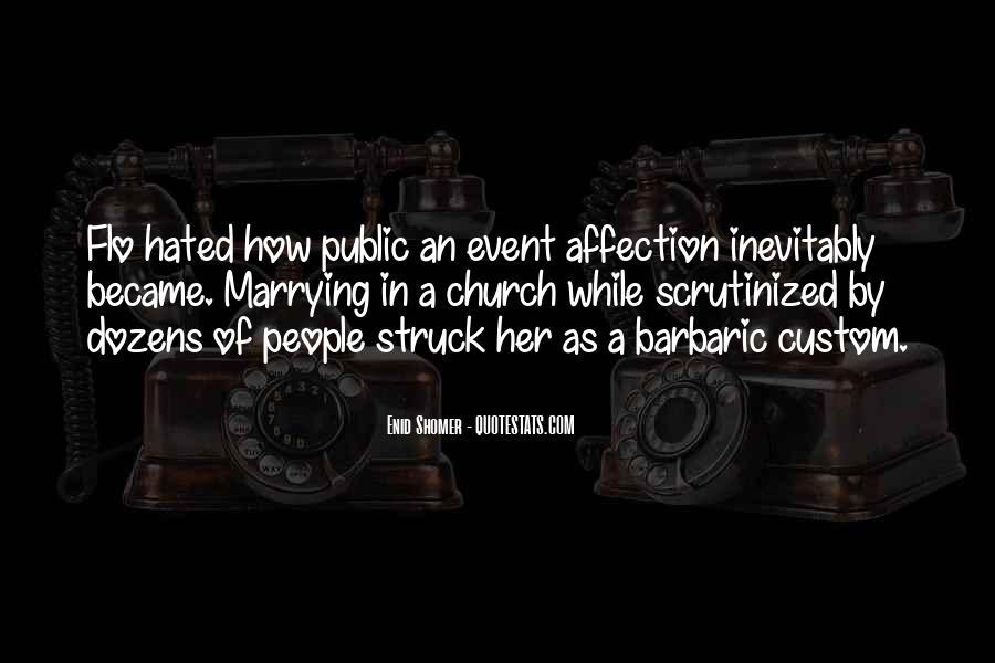 Quotes About Public Affection #753719