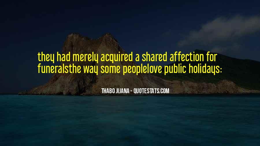 Quotes About Public Affection #977212