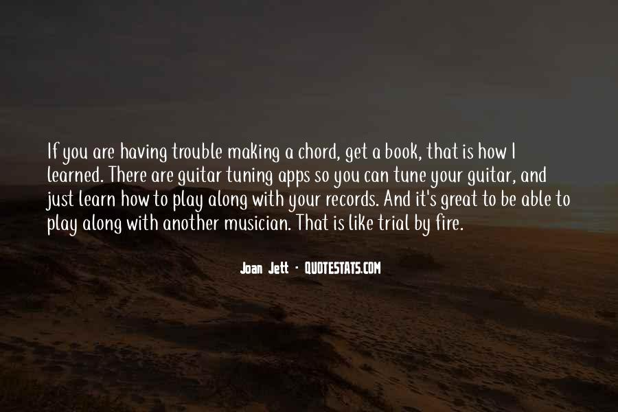 Quotes About Tuning A Guitar #1633710