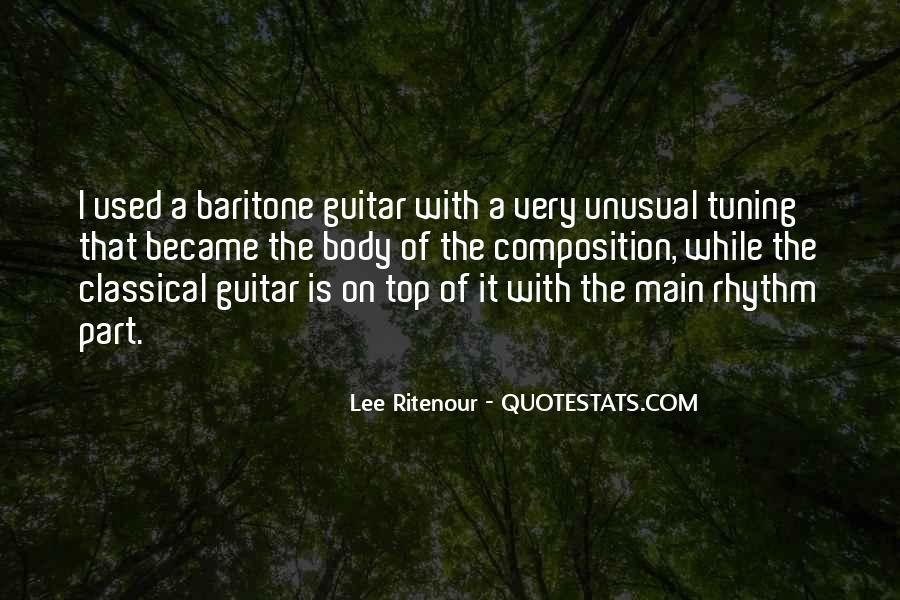 Quotes About Tuning A Guitar #431732