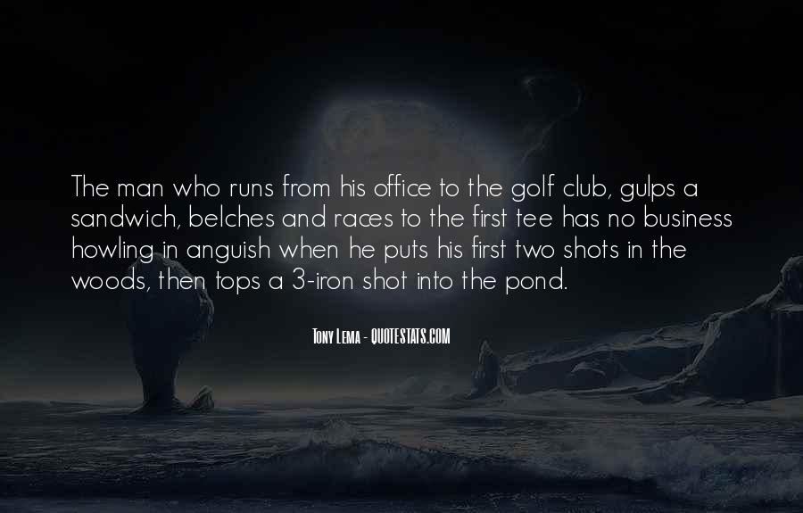 Quotes About Golf And Business #227708