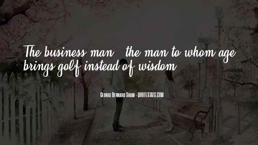 Quotes About Golf And Business #294378
