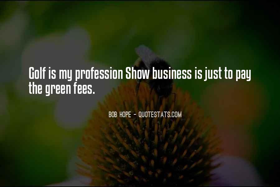 Quotes About Golf And Business #333822