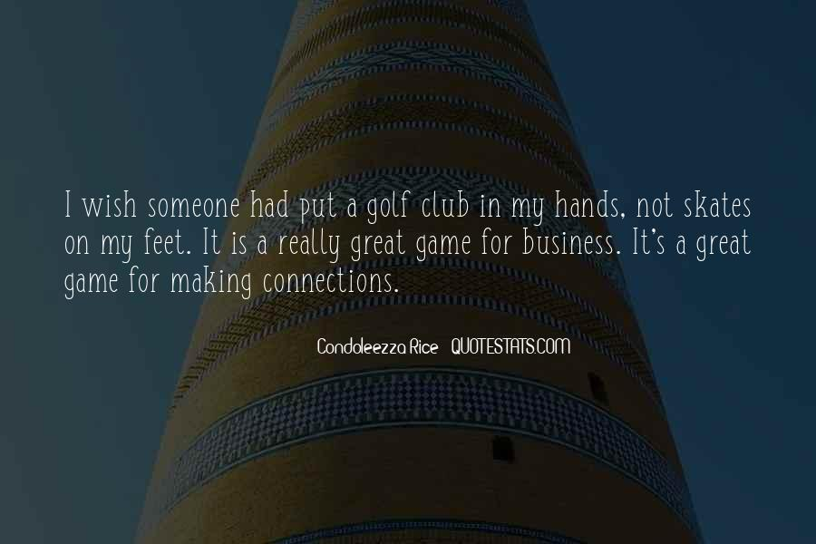 Quotes About Golf And Business #409856