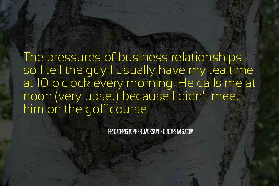 Quotes About Golf And Business #49469