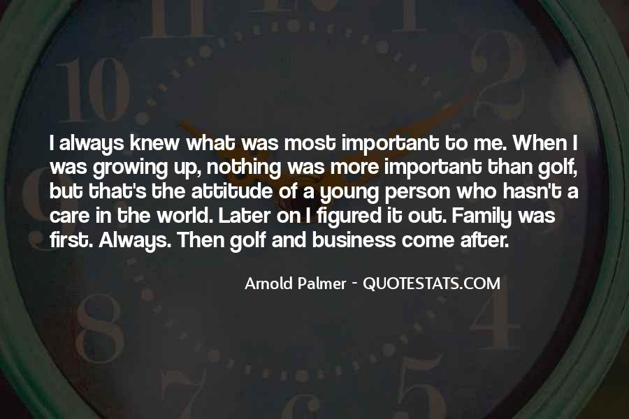 Quotes About Golf And Business #66336