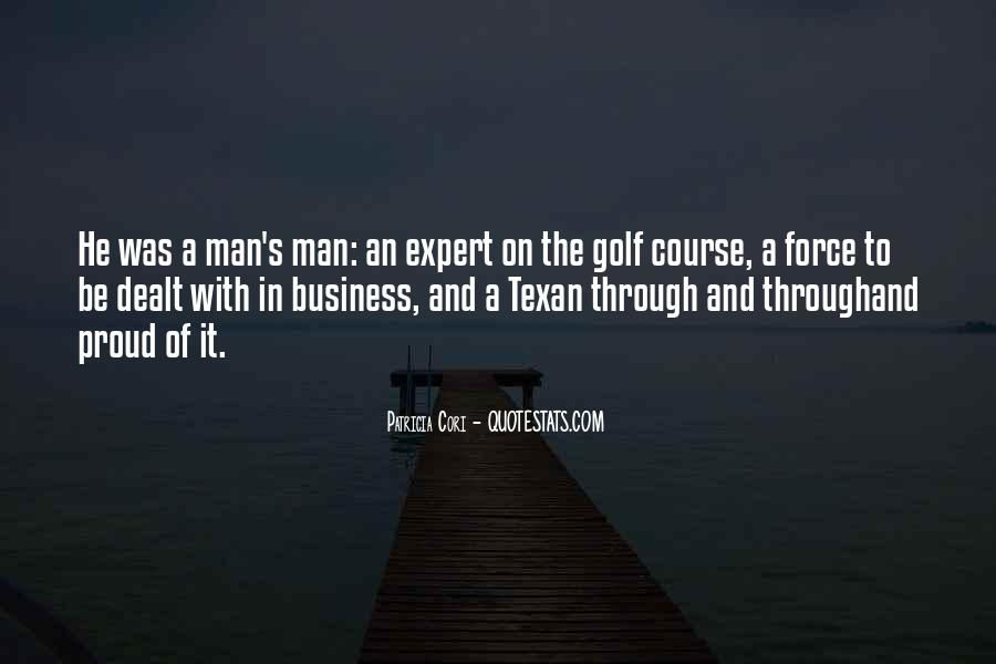 Quotes About Golf And Business #80236