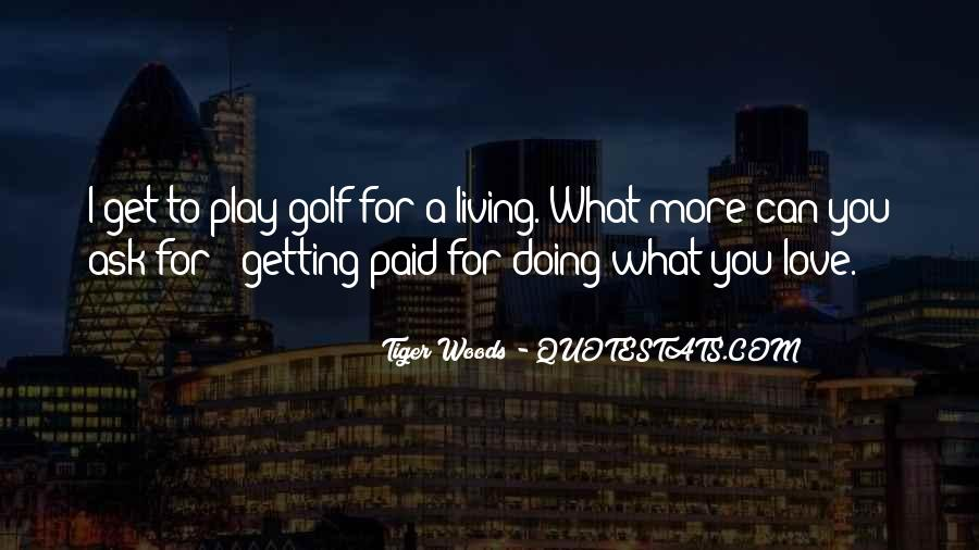 Quotes About Golf And Business #837618