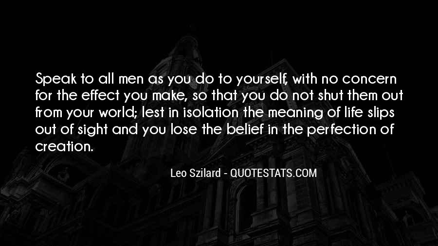 Quotes About Isolation In Speak #1685592