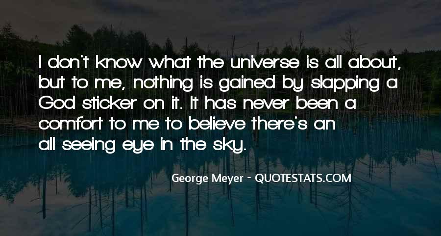 Quotes About Not Seeing Eye To Eye #219311