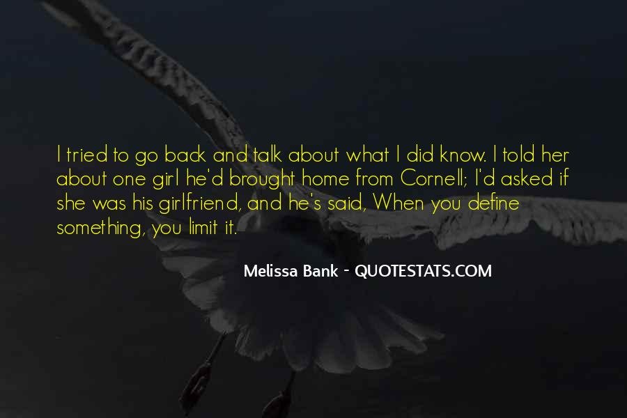 Quotes About How To Get A Girlfriend Back #68914