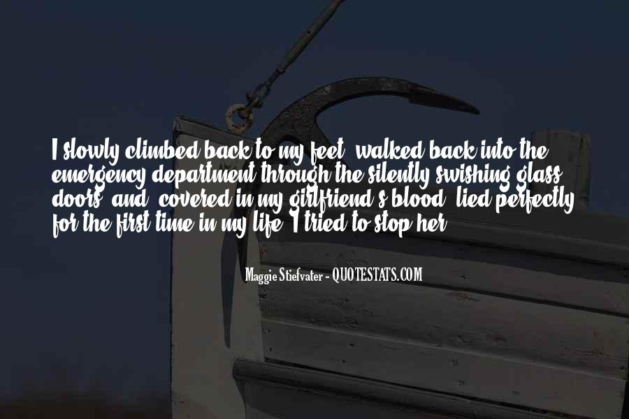 Quotes About How To Get A Girlfriend Back #704121